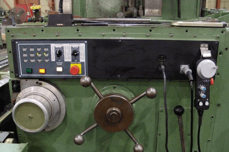Controls Planer Milling Machine