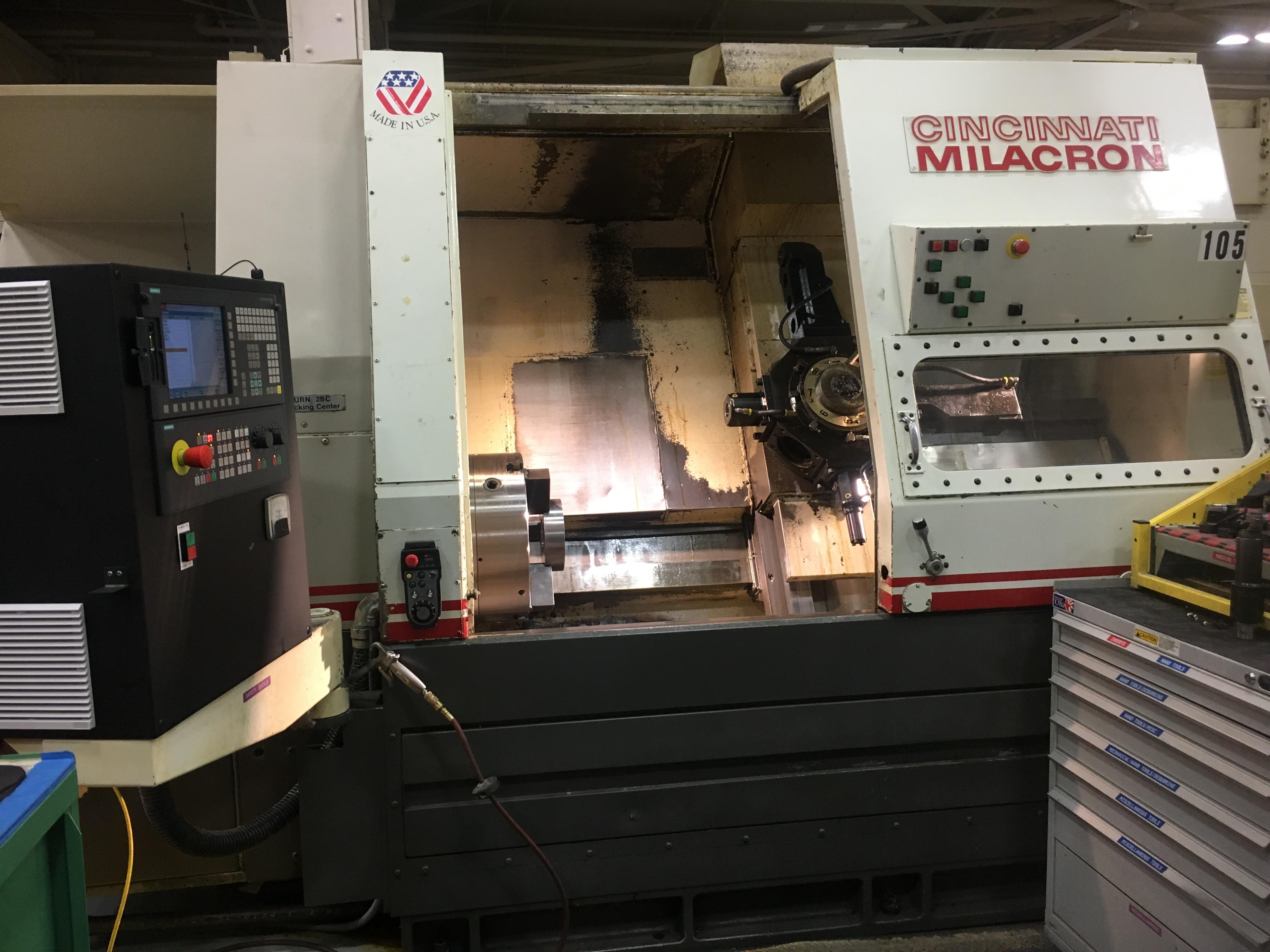 Cincinnati Milacron Lathe – Siemens 828D