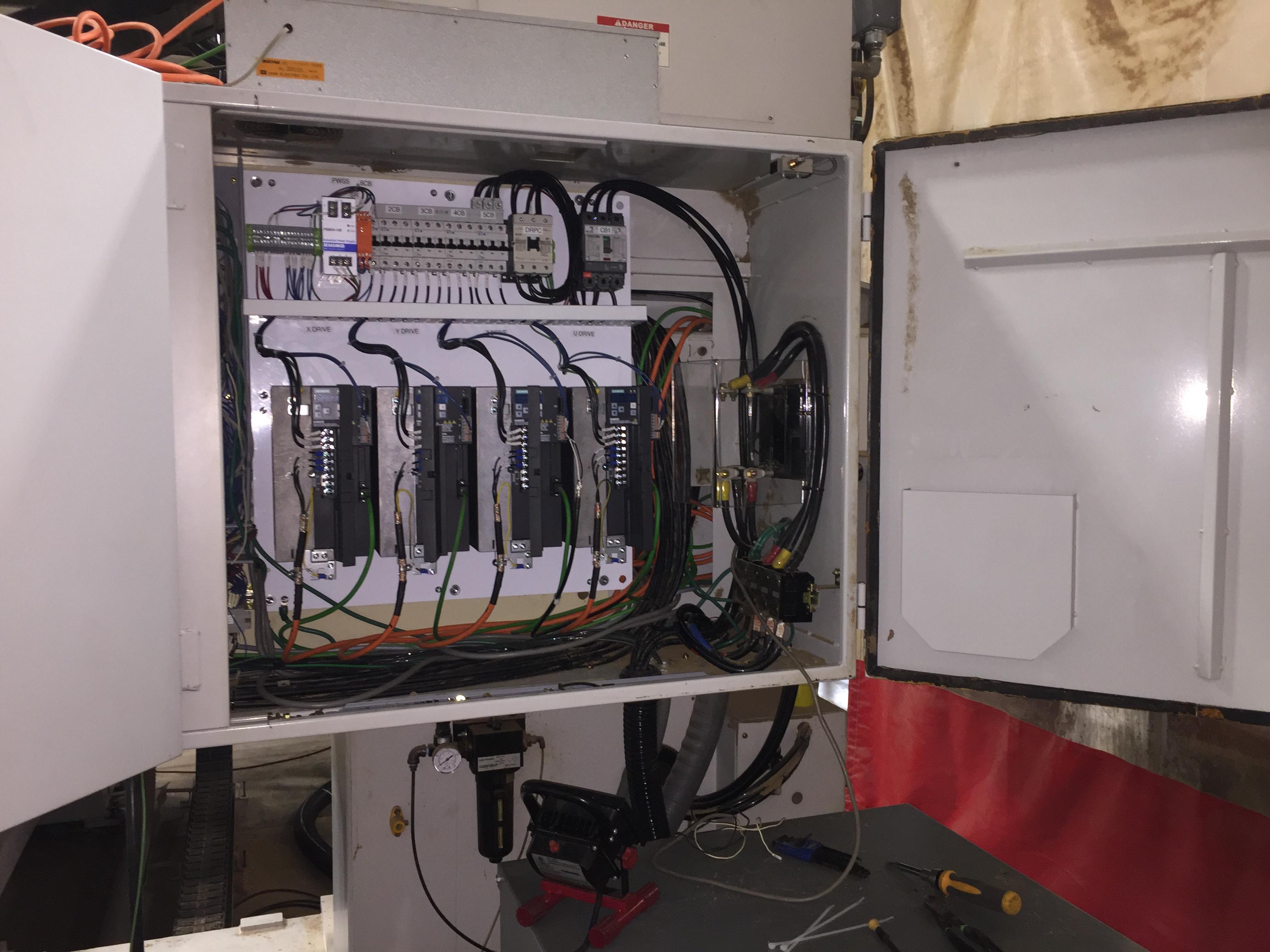 Shoda Router – Siemens 808D Drives